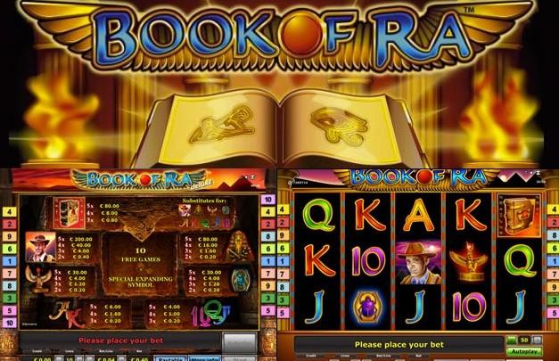 Book of Ra im Online Casino Spielen mit EchtGeld