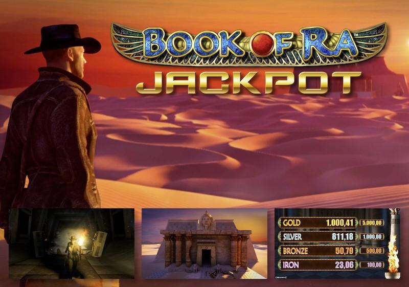 Book of Ra Jackpot 2015